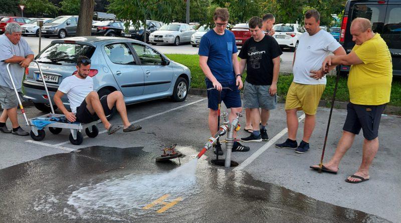 Letni pregled hidrantov 2020